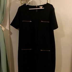 J Crew Zipper Dress